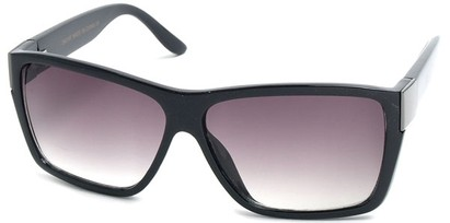 Angle of SW Fashion Style #525 in Black Frame, Women's and Men's