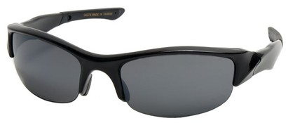 Angle of SW Sport Style #278 in Black Frame, Women's and Men's