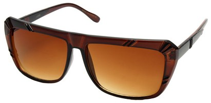 Angle of SW Fashion Style #1546 in Brown Frame, Women's and Men's