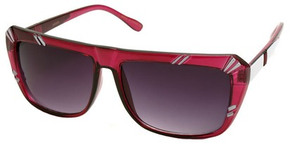 Angle of SW Fashion Style #1546 in Pink Frame, Women's and Men's