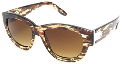 Angle of SW Retro Style #3091 in Brown Tortoise Frame, Women's and Men's