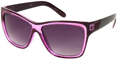 Angle of SW Fashion Style #1106 in Purple Frame, Women's and Men's