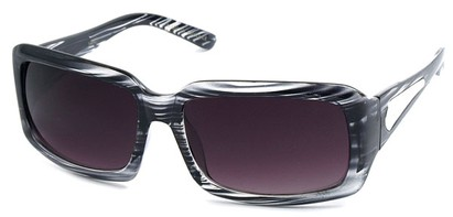Angle of SW Fashion Style #540427 in Black Stripe Frame, Women's and Men's