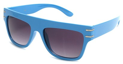 Angle of SW Retro Style #240 in Blue Frame, Women's and Men's