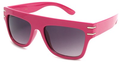 Angle of SW Retro Style #240 in Hot Pink Frame, Women's and Men's
