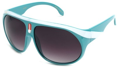 Angle of SW Celebrity Aviator Style #2798 in Turquoise Blue Frame, Women's and Men's