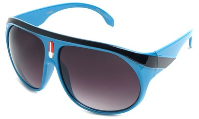 Angle of SW Celebrity Aviator Style #2798 in Blue Frame, Women's and Men's