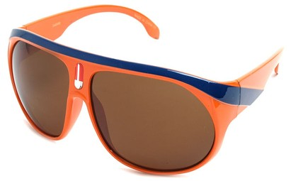 Angle of SW Celebrity Aviator Style #2798 in Orange Frame, Women's and Men's