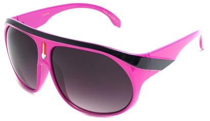 Angle of SW Celebrity Aviator Style #2798 in Fuschia Frame, Women's and Men's