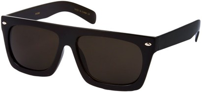 Angle of SW Retro Style #13511 in Black Frame, Women's and Men's
