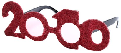 Angle of SW Novelty Sunglasses #541619 in Red, Women's and Men's