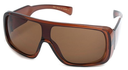 Angle of SW Shield Style #540431 in Brown, Women's and Men's