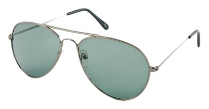 Angle of Precinct #1605 in Gray Frame, Women's and Men's Aviator Sunglasses