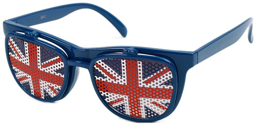 Novelty British Flag Retro Square Style Sunglasses 4d13155fa2