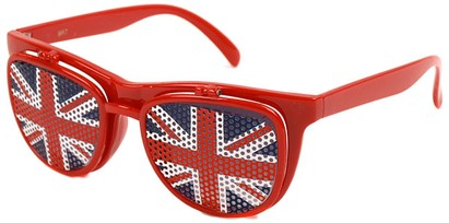 Union Jack Flip Up Sunglasses