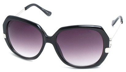 Angle of SW Vintage Style #8939 in Black Frame, Women's and Men's