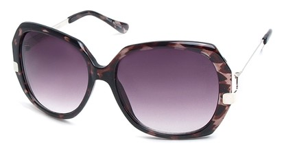 Angle of SW Vintage Style #8939 in Black Tortoise Frame, Women's and Men's