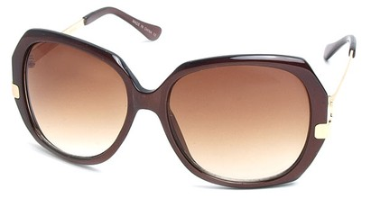 Angle of SW Vintage Style #8939 in Brown Frame, Women's and Men's
