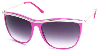 Angle of SW Vintage Style #18200 in Pink Frame, Women's and Men's