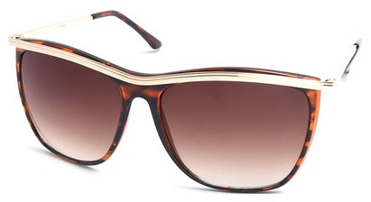 Angle of SW Vintage Style #18200 in Tortoise Frame, Women's and Men's