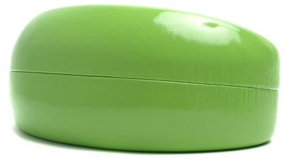 Angle of Anvil #752 in Lime Green Case, Women's and Men's  Hard Case