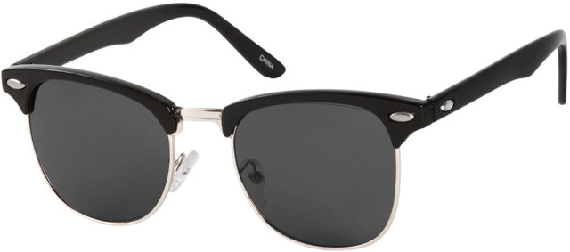 Browline Sunglasses  tortoise black clubmaster style retro sunglasses