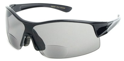 Angle of SW Bifocal Style #7988 in Black, Women's and Men's