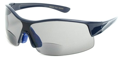 Angle of SW Bifocal Style #7988 in Blue, Women's and Men's