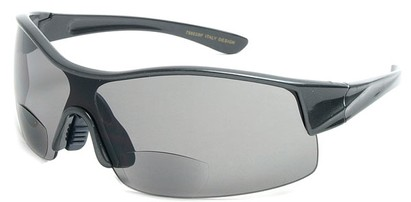Angle of SW Bifocal Style #7988 in Grey, Women's and Men's