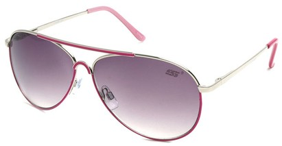 Angle of SW Neon Aviator Style #55700 in Pink, Women's and Men's