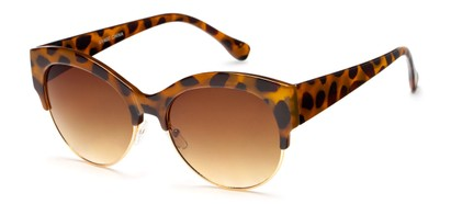 Trendy Browline Sunglasses