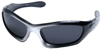 Angle of SW Kid's Style #2466 in Black and Silver Frame, Women's and Men's