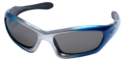 Angle of SW Kid's Style #2466 in Blue and Silver Frame, Women's and Men's