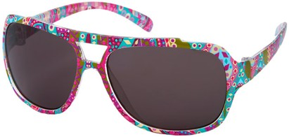 Angle of SW Kid's Aviator Style #1907 in Multi Print, Women's and Men's