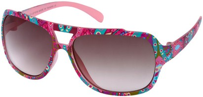 Angle of SW Kid's Aviator Style #1907 in Pink, Women's and Men's