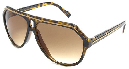 Angle of SW Aviator Style #1351 in Tortoise with Gold, Women's and Men's