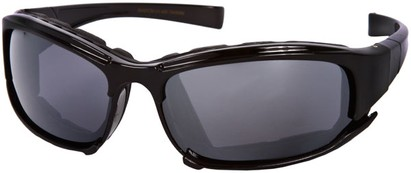 Angle of Acadia #487 in Black Frame, Women's and Men's Sport & Wrap-Around Sunglasses