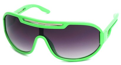 Angle of SW Neon Retro Style #8792 in Neon Green Frame, Women's and Men's