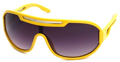Angle of SW Neon Retro Style #8792 in Yellow Frame, Women's and Men's