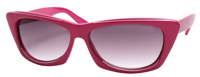 Angle of SW Modified Retro Style #8843 in Pink Frame, Women's and Men's