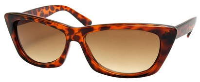 Angle of SW Modified Retro Style #8843 in Tortoise Frame, Women's and Men's