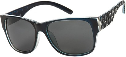 Angle of SW Polarized Style #8860 in Blue, Women's and Men's