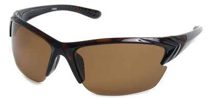 Angle of Alpine #59 in Tortoise with Amber, Men's Sport & Wrap-Around Sunglasses