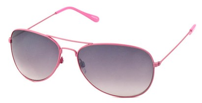 Angle of Chasma #71010 in Pink Frame, Women's and Men's Aviator Sunglasses