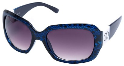 Angle of SW Lace Style #9898 in Blue and Black Frame, Women's and Men's