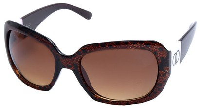 Angle of SW Lace Style #9898 in Brown Frame, Women's and Men's