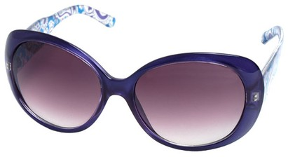Angle of SW Paisley Style #4733 in Purple Frame, Women's and Men's