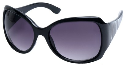 Angle of SW Animal Print Style #1432 in Black Tiger Print Frame, Women's and Men's
