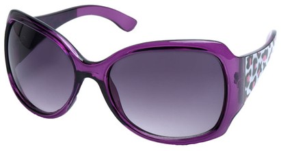 Angle of SW Animal Print Style #1432 in Purple Cheetah Print Frame, Women's and Men's