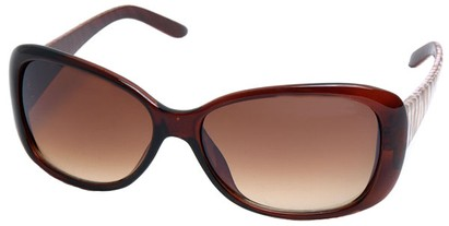 Angle of SW Tiger Style #5079 in Brown Frame, Women's and Men's